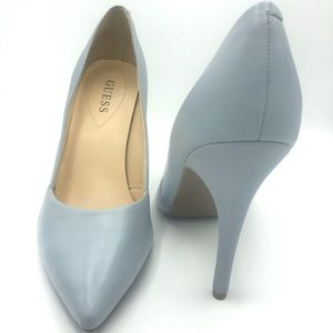 Guess | Pointed Toe Pale Blue Stiletto Heels
